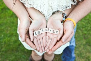 letters saying forever