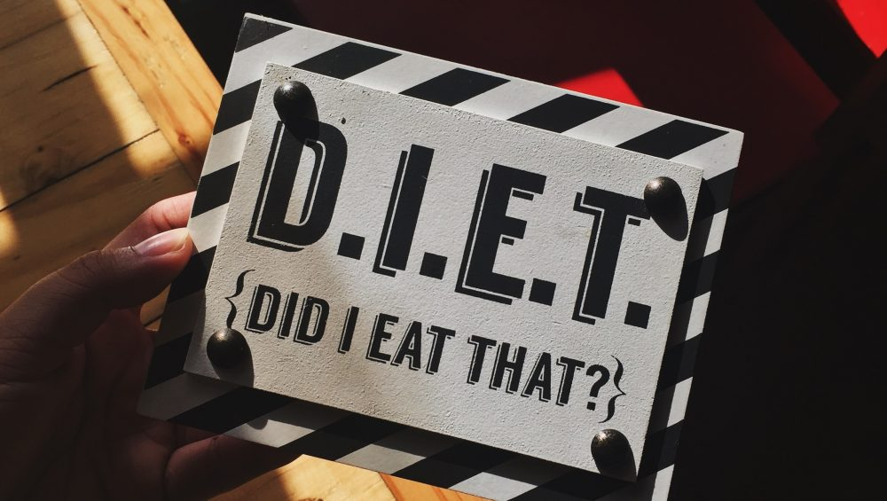 Diet (did I eat that?)