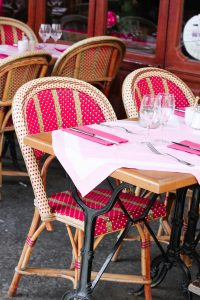 dining out tables
