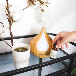 tea and diffuser