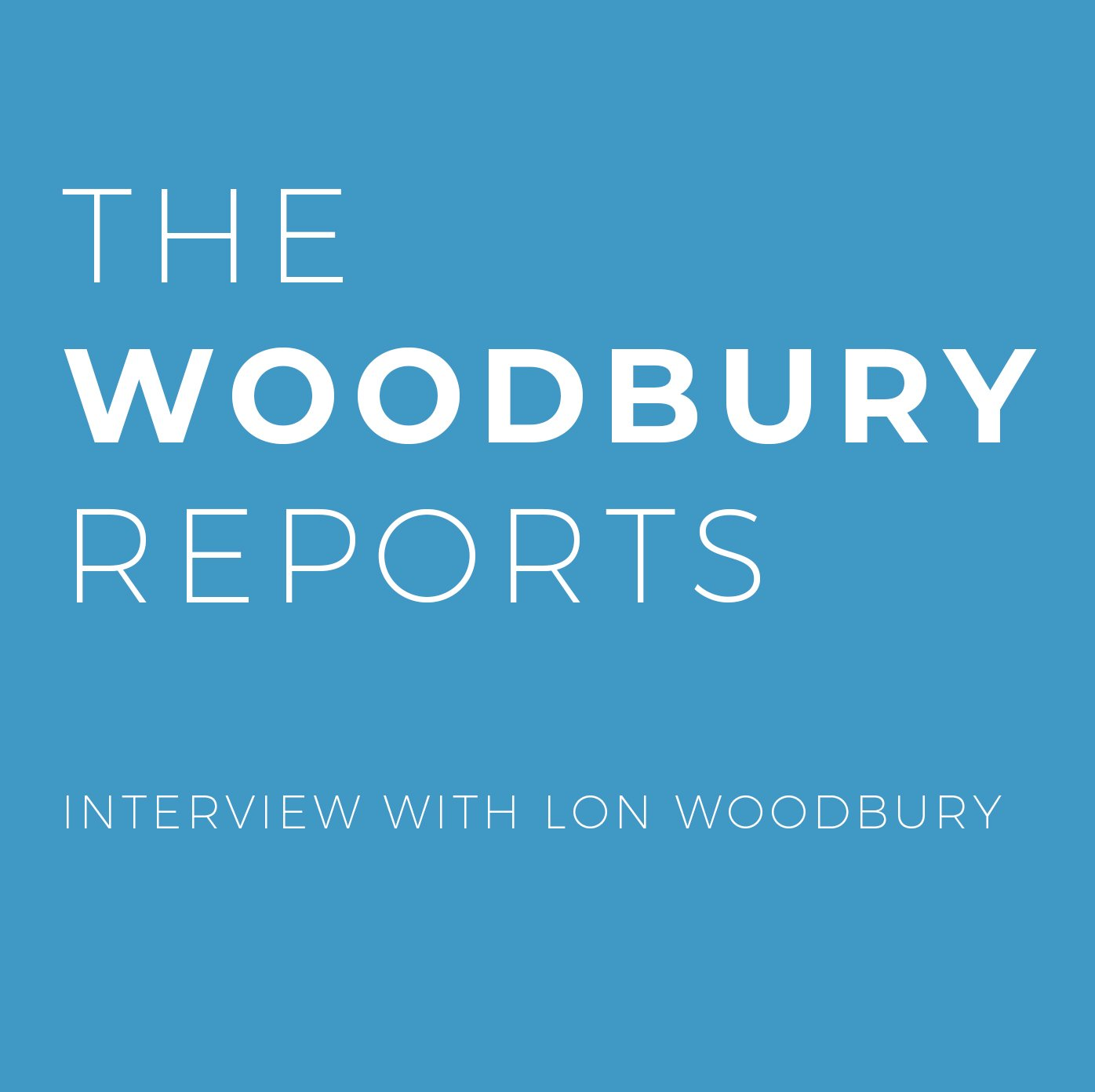 Breaking Up With Sugar–Interview With Lon Woodbury